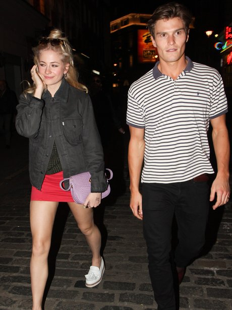 Pixie Lott and Oliver Cheshire together