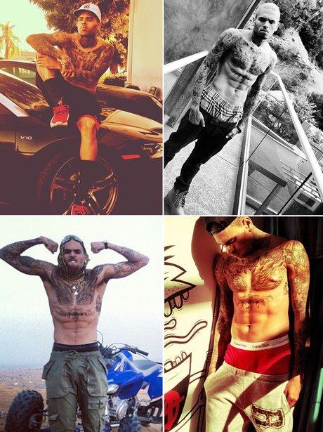Sexy Selfies: Chris Brown