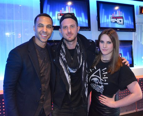 Sigma with Marvin Humes on the Big Top 40