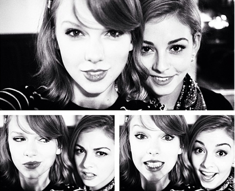 Taylor Swift and Grace Gold
