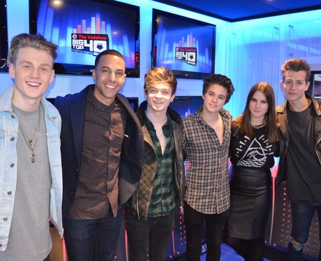 The Vamps on Big Top 40
