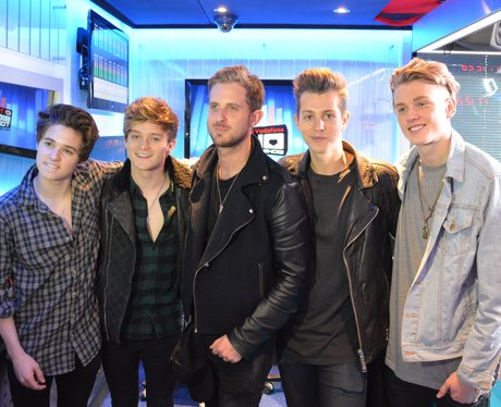 The Vamps and Sigma on Big Top 40