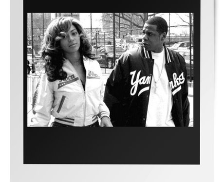 Jay Z & Beyonce throw back thursday