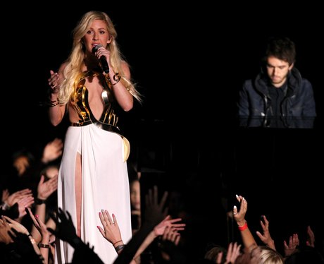 Ellie Goulding performs at the MTV Movie Awards