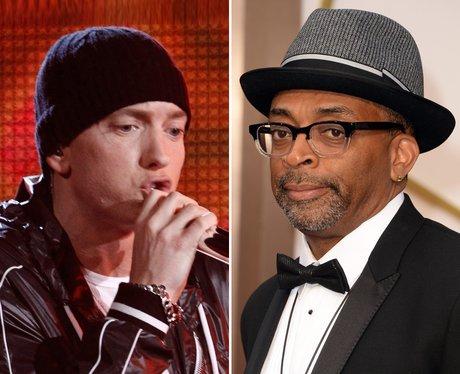 Eminem and Spike Lee