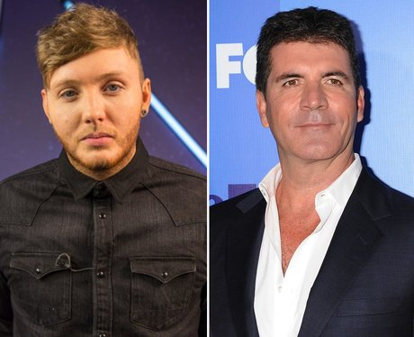 James Arthur And Simon Cowell