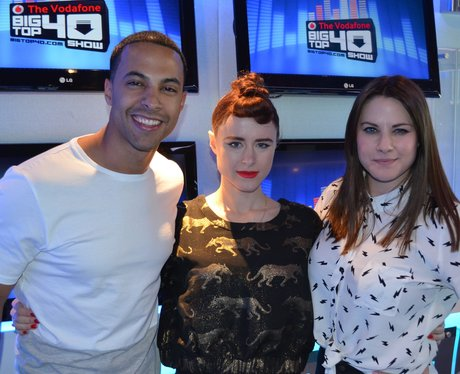 Kiesza, Marvin Humes Big Top 40