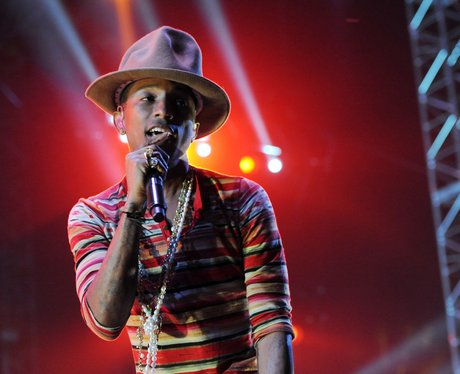 Pharrell Williams Coachella Festival Set 2014