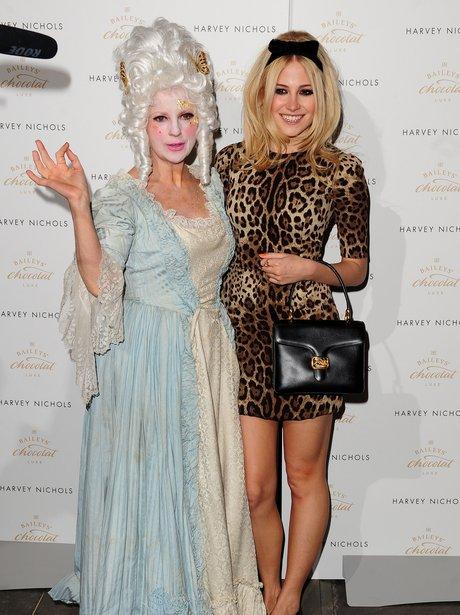 Pixie Lott attending the Baileys Feaster Egg Hun