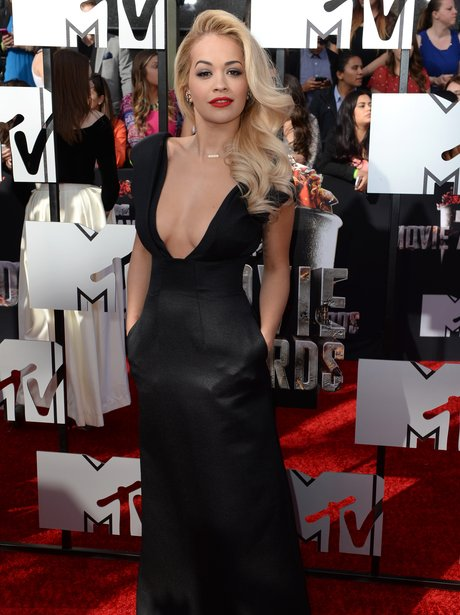 Rita Ora at the MTV Movie Awards 2014