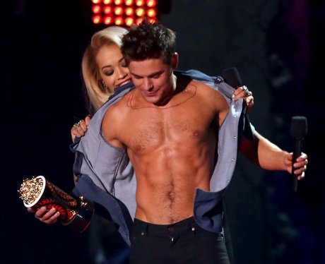Rita Ora Zac Efron MTV Movie Awards 2014