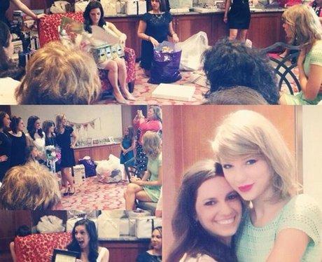 Taylor Swift Fan Bridal Shower