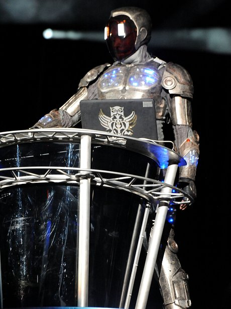 Will.i.am Robot Outfit