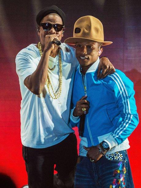Pharrell Jay-Z Coachella 2014