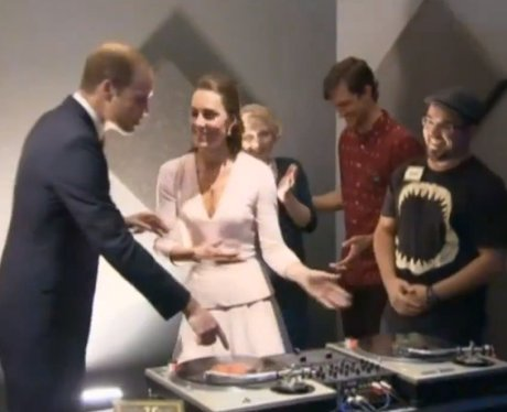Prince William And Kate MIddleton DJ-ing