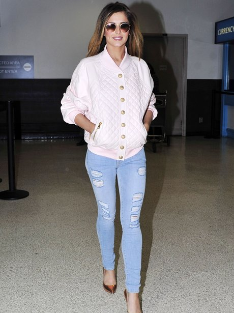 Cheryl arrives at the airport