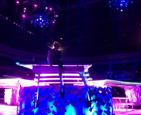 Lady Gaga Tour Rehearsals