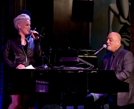 Pink with Billy Joel