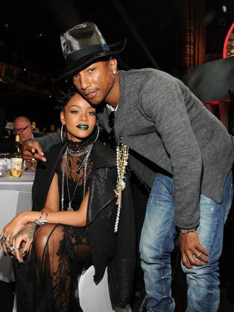 Rihanna and Pharrell Williams