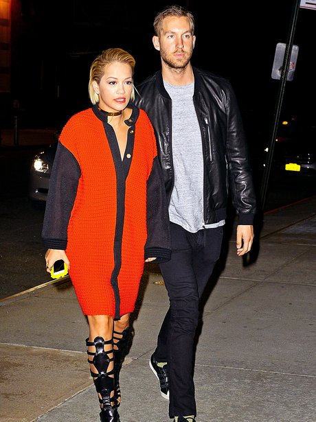 Rita Ora spotted out with boyfriend Calvin Harris