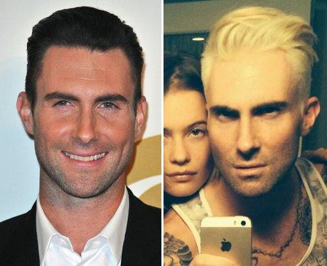 Adam Levine Blond Hair