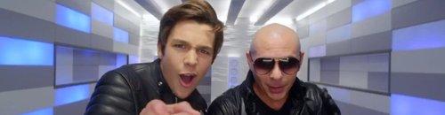 Austin Mahone Pitbull 'Mmm Yeah' Music Video