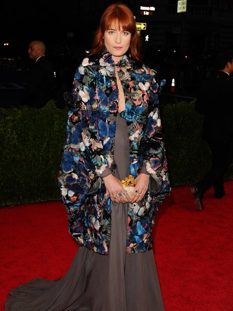 Florence Welch MET Ball 2014
