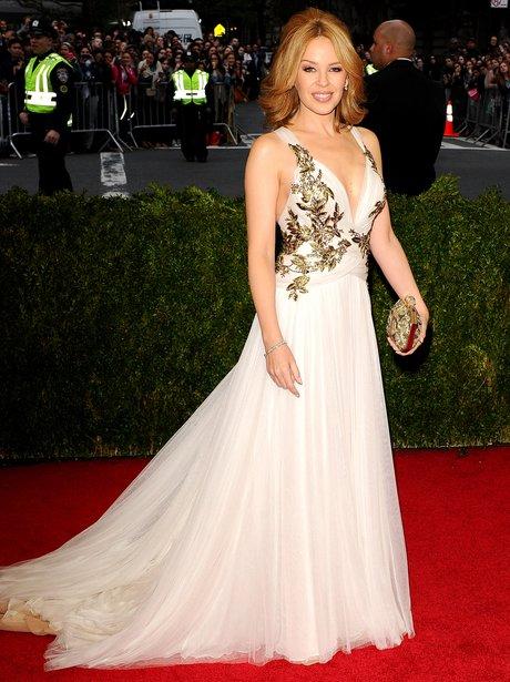 Kylie Minogue MET Ball 2014