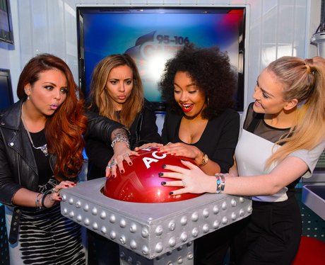 Little Mix at Capital FM studio
