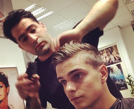 Martin Garrix haircut