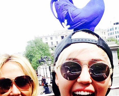 Miley Cyrus London Instagram