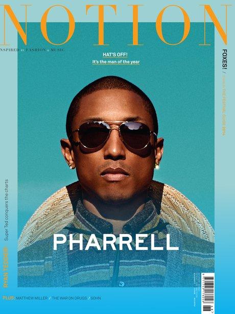 Pharell Notion Magazine 201
