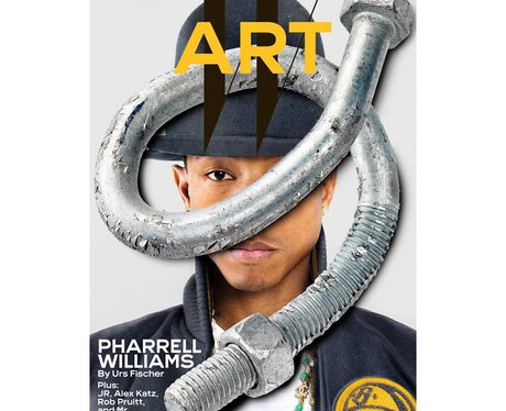 Pharrell Williams W Magazine Art Issue