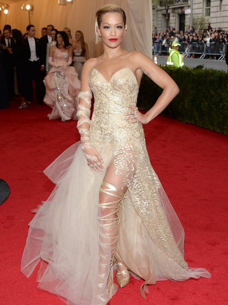 Rita Ora MET Ball 2014