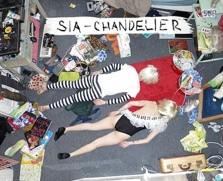 Sia Chandelier Artwork