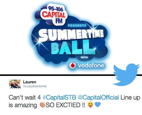 Summertime Ball 2014 Reaction Tweets