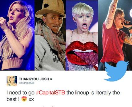 Summertime Ball 2014 Reaction Tweets
