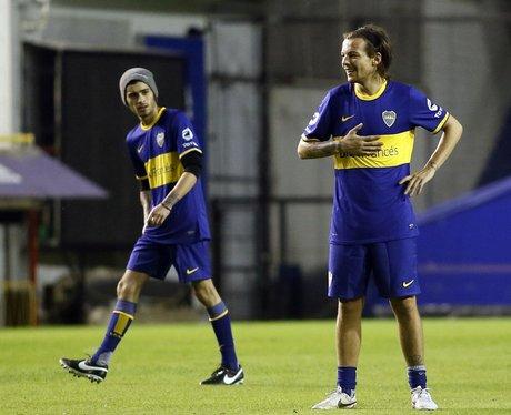 Zayn Malik and Louis Tomlinson