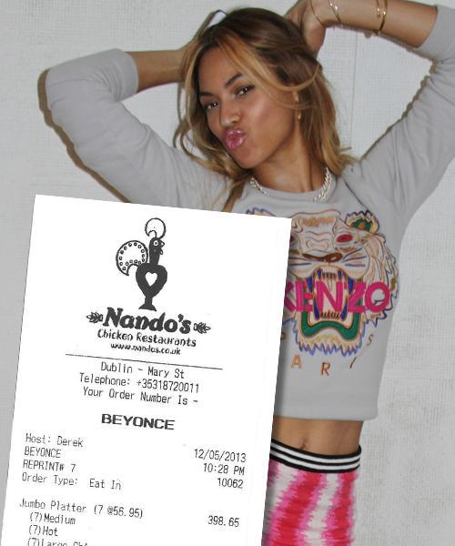 Beyonce Nandos