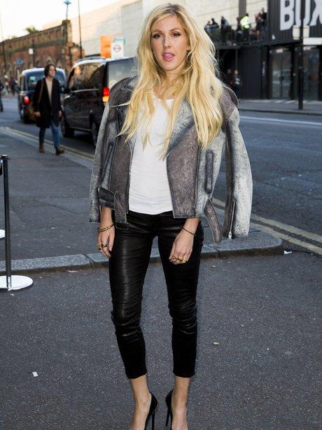 Ellie Goulding attends H&M event