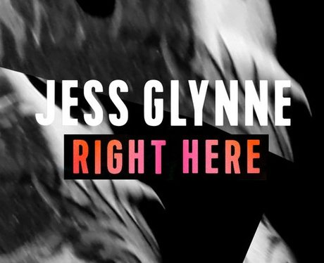 Jess Glynne - 'Right Here' artwork
