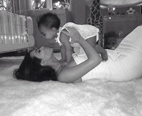 Kim Kardashian and Baby North
