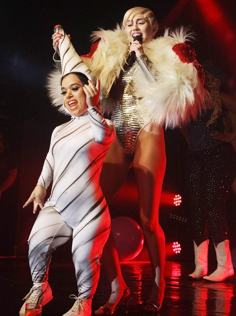 Miley Cyrus GAY London show