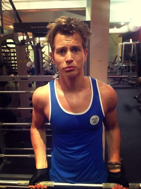 The Vamps James McVey Instagram Gym