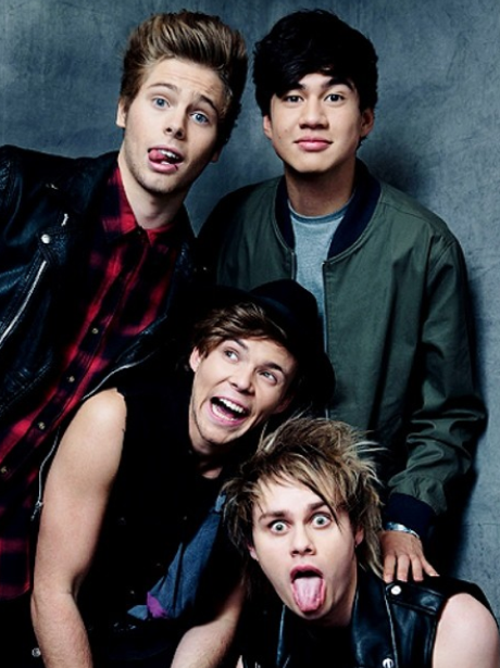 5SOS' New Album Arrives! What To Expect From The Boys ...  5sos With Fans 2014