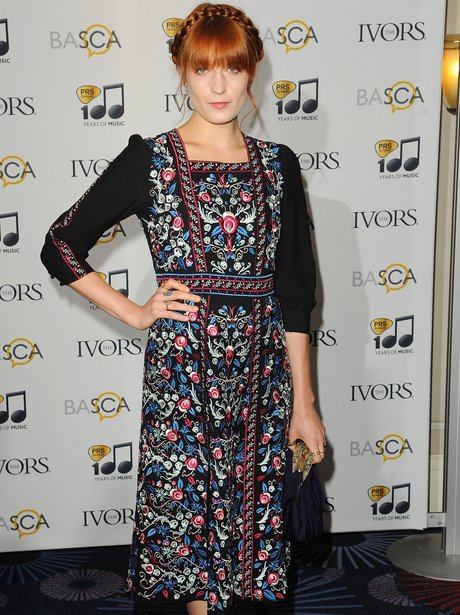 Florence Welch Ivor Novello Awards 2014