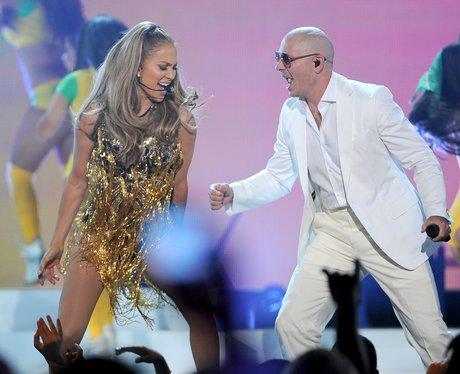 J Lo and Pitbull Billboard Music Awards 2014