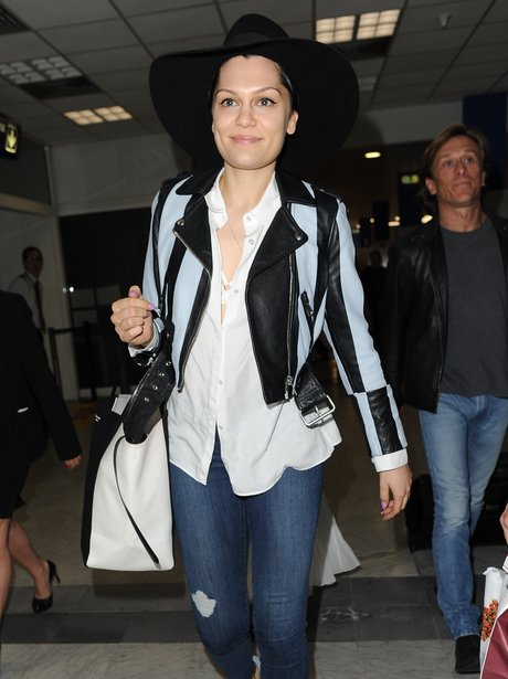 Jessie J Arrives At Nice Airport