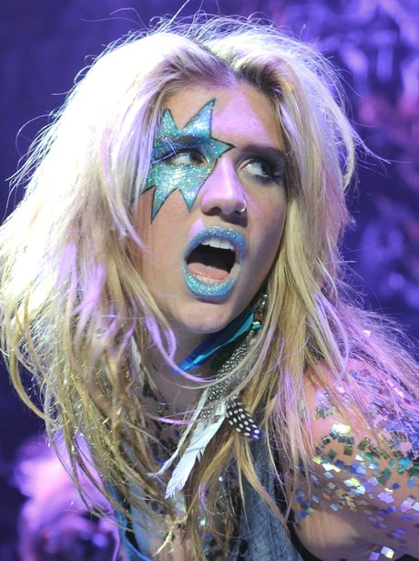 Ke$ha Face Paint