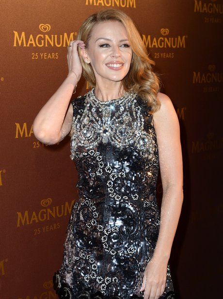 Kylie Minogue in Cannes 2014